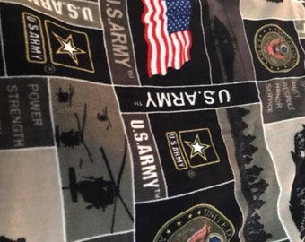 Army Fleece Blanket