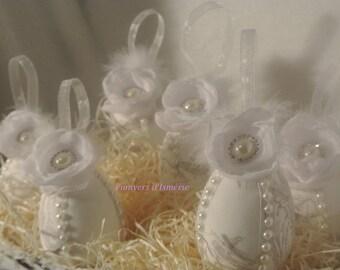 shabby Easter eggs