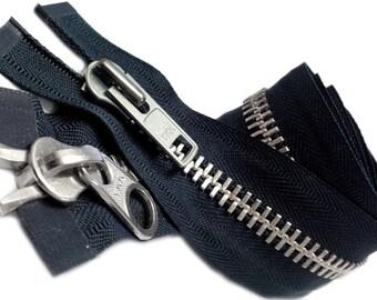 YKK Parka Zipper #10 Aluminum Chaps Extra Heavy Duty 2 Way Separating ~ Select Color & Length~~ZipperStop Wholesale YKK®