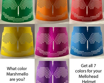 Color Mask Inserts for Marshmello Helmet, seven different colors (Helmet Sold Separately)