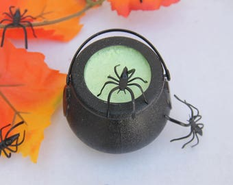 Cauldron Bath Bomb, Halloween Bath Bomb, Spiders, Surprise Bath Bombs, Spooky, Party Favors, Halloween Party Favors