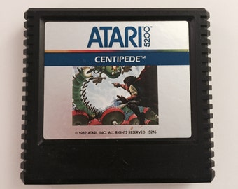Atari 5200 Centipede Game Cartridge