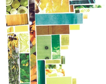 Minnesota Green/Yellow Mosaic Card