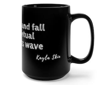 Endless Wave Black Mug