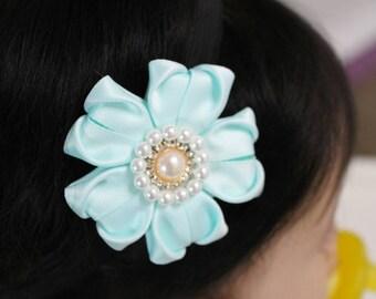 Ribbon Baby headband / ribbon hair clip / infant headband /toddler headband / girls headband /ribbonbianka