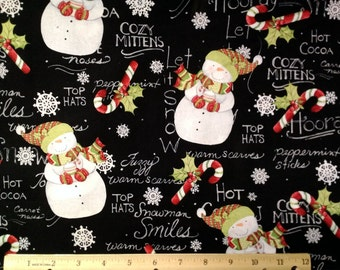 Let It Snow Fabric