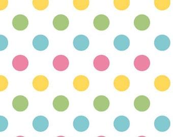 CLEARACE Medium Dots Girl - by Riley Blake - 1/2 Yard