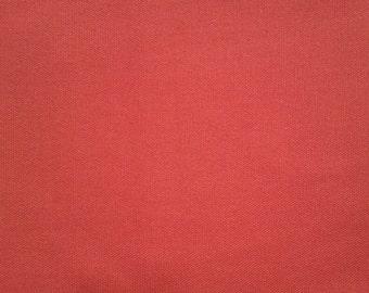 Rust Colored Cotton Twill Fabric
