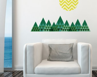 Mountains Removable Wall Sticker