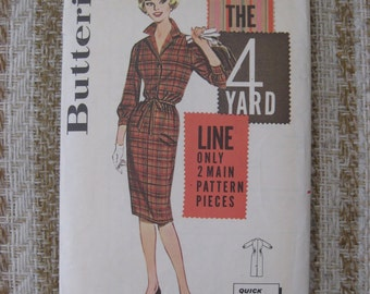 Butterick Size 14 Misses' Quick and Easy Dress Pattern 9825