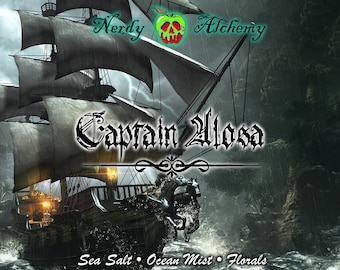 Captain Alosa - Daughter of the Pirate King Inspired Soy Candle