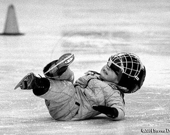 Ice Skating, Toddler Learning to Skate, Ice Hockey, Toddler