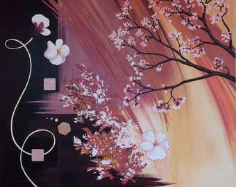 Abstract painting / abstract painting - Spring