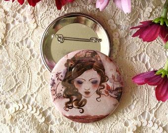 Badge - Cherry Blossom