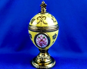 Franklin Mint House of Faberge Musical Egg - The Orchid