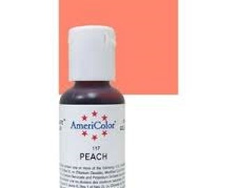 Americolor Peach Gel Paste