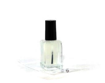 "10 Free Suspension Base Nail Polish - Frankie's Plasma - ""Ready To Use"" Full Size Bottle With Cap Brush & SS Mixing Balls"