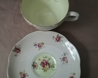 Foley Bone China Made in England teacup and saucer