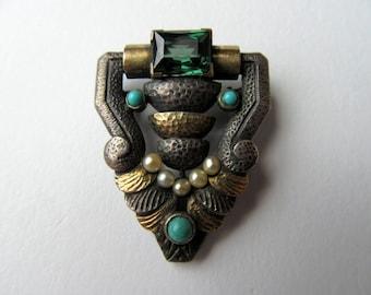 Vintage Art Deco Brooch.