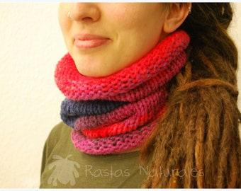 Handmade Dreadlocks tube / collar / headband