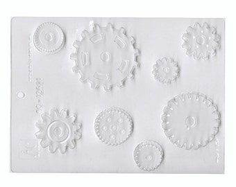 Gears Assorted Chocolate Mold - Candy Making - Party Supplies