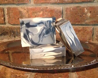 Black Tie for Men Handcrafted Artisan Soap All Natural