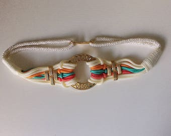 Vintage elastic belt