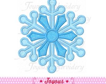 Instant Download Snowflake Embroidery Applique Design NO:1640