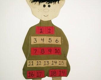 Pixie Christmas advent calendar