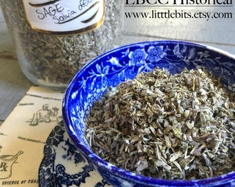 Certified Organic Sage Herb Great For Cooking, Teas, Soaps, And So Much More