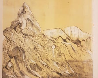 Cascade (Etching - Limited Edition)