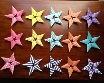 Origami stars (individual stars)