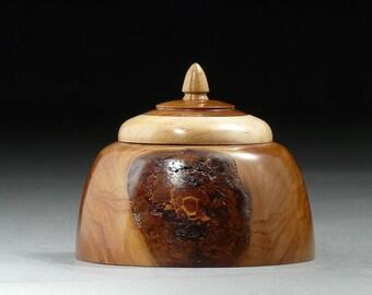 Wooden Keepsake Treasure Box, Japanese Cherry (BX40)