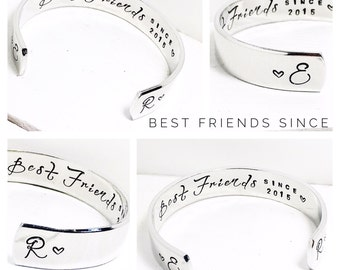 Friends Gift | Best Friends Gift | Gifts for Her | Womens Gifts | Personalised Friendship Jewelry | Personalised Friendship Bracelet (C065)