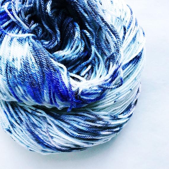 MYST hand dyed fingering yarn