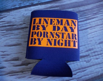 Lineman Cozy ready for beverages