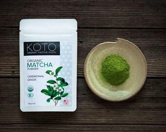 Organic Matcha Powder 'Ceremonial Grade' 30g