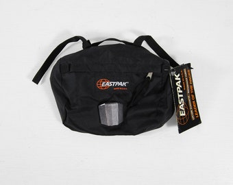 Vintage Eastpak Bicycle Bag NOS Cycling Black Pack Made in USA