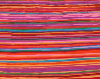 Strata in red from Kaffe Fassett - 2 yards