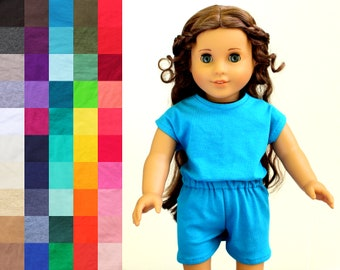 Fits like American Girl Doll Clothes - The Runway Romper, You Choose Color | 18 Inch Doll Clothes