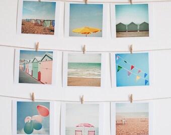Beach Photography, Seaside, Landscape Art, Coastal Decor, Pastel Colours, Ocean, Gift Ideas, Photograph Collection - Vacation