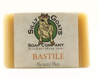 Natural Face Wash, Facial Wash, Face Soap, Bastille Soap, Bastile Soap