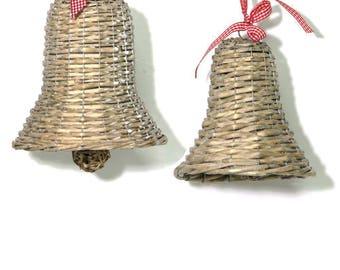 Willow Christmas Bells.