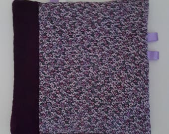 "Label ""lilac"" lili baby blanket"