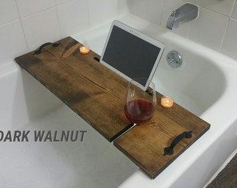 Guaranteed Perfect Fit Bathtub Wine Caddy
