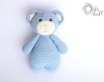 Bear amigurumi, crochet bear, teddy bear amigurumi