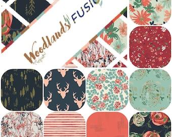 Half Yard Bundle (10) WOODLAND FUSION by Art Gallery Fabrics Half Yards