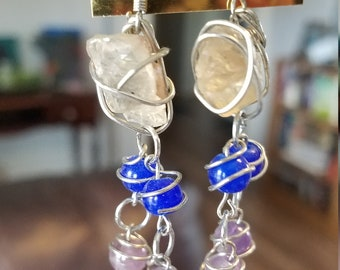 Oregon Sunstone Earrings