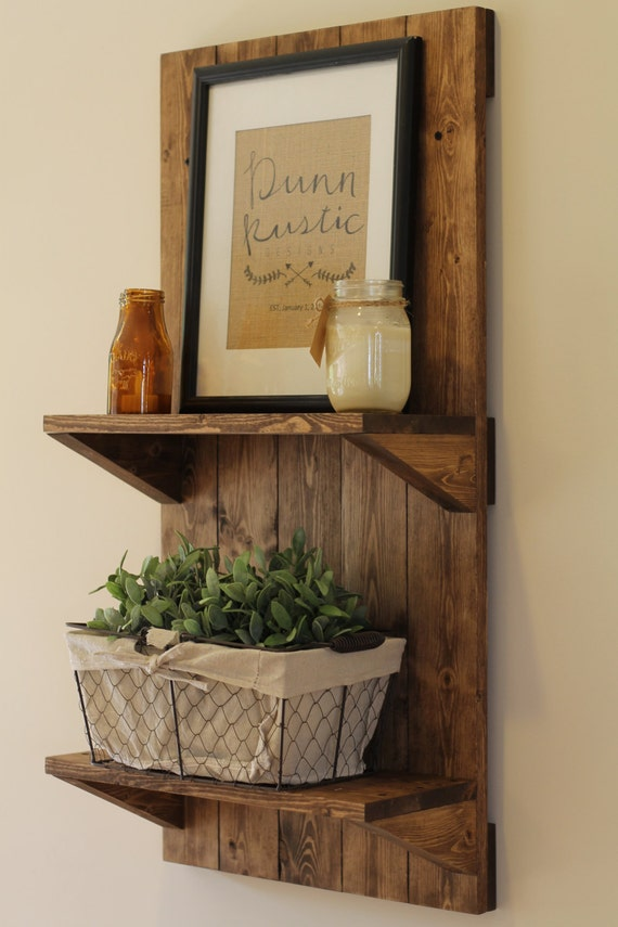 Vertical Rustic Wooden Shelf, Rustic Shelf, Rustic Furniture, Wooden Shelf, Rustic Home Decor, Wall Shelf, Bathroom Shelf, Christmas Gift
