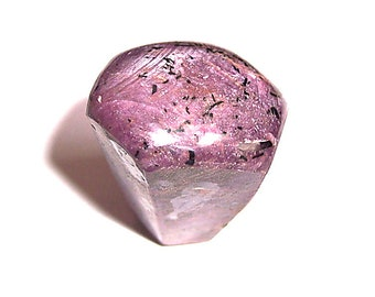HUGE 4.0 Oz. Hexagonal Ruby Crystal Wand, Sanded Smooth on All Sides, Polished On End!